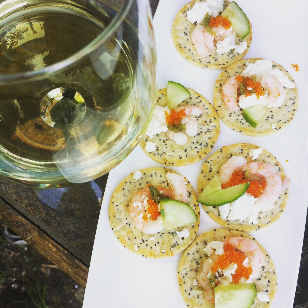 Simple shrimp canape recipe for Where can i buy canape cups