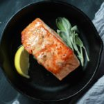 Pan-seared wild salmon recipe