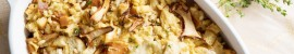 Savoury Chanterelle Stuffing recipe for a drool worthy Thanksgiving