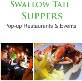 The Culinary Circus – Pop-up Restaurants. Swallowtail Supper Club