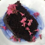 Wildflower Chocolate Cake